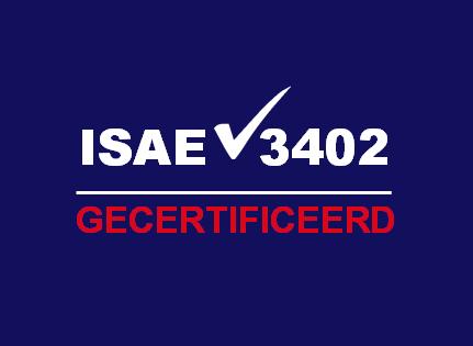 Qteco is ISAE3402 gecertificeerd